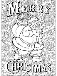Kids N Fun Kleurplaat Kerstmis Voor Volwassenen Kerstman