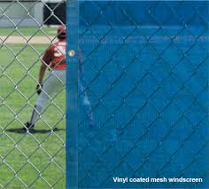 Mesh Chain Link Fence Privacy Screen Windscreen Coversports