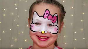 o kitty makeup for kids easy face