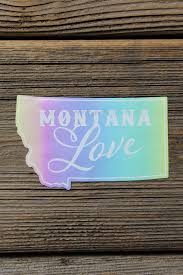 No Place Like Home Vinyl Decal The Montana Way