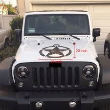 20 Inch Big Stickers Cars Army Star Distressed Decal For Jeep Sticker Large Vinyl Military Hood Graphic Body Fits Most Vehicles Car Stickers Aliexpress