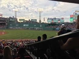 fenway park section grandstand 11