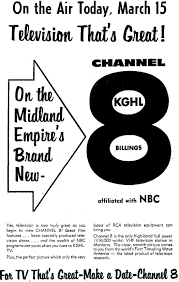 KGHL TV / KULR TV Channel 8 Billings, Montana - John in Arizona -  johninarizona