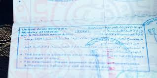 work permit for dubai visas in the