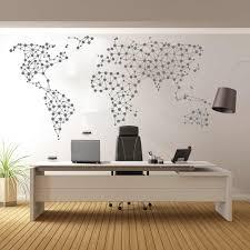 Large Geometric Word Map Wall Sticker Office Nursery 250cmx129cm Travel World Map Wall Decal Bedroom Living Room Vinyl Decor Wall Stickers Aliexpress