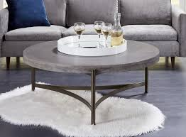 modus furniture lyon round concrete