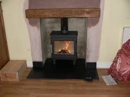 wood burner into an existing chimney