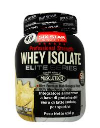 whey isolate elite series by six star
