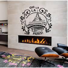 Shop Oh La La Paris Wall Art Sticker Decal Overstock 11725495