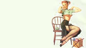47 free pin up wallpapers on