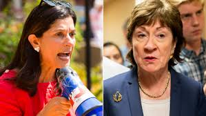 Sara Gideon attacks Susan Collins on abortion rights after Supreme Court  ruling - CNNPolitics
