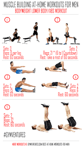 at home workouts for men 10 muscle