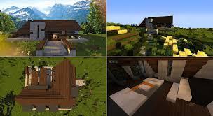 top 5 des maisons modernes minecraft