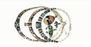 interior fake indian jewelry case took