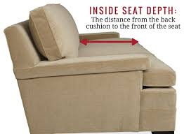 seat depth and cushions