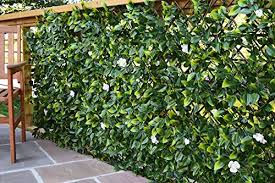 Extreme Instant Hedging Artificial Screening Fencing Realistic With Summer Flowers 2m X 1m Can Be Extended West Derby Carpets