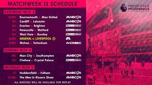 Premier League TV, streaming schedule - ProSoccerTalk