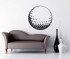 Vinyl Wall Decal Sticker Golf Ball Os Aa715 Stickerbrand