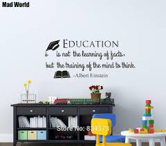 albert einstein quote education is not the learning wall art