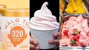 frozen yogurt gelato or low fat ice