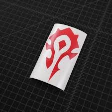 World Of Warcraft Horde Faction Symbol Vinyl Decal The Stickermart