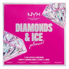 nyx diamonds ice please 12 day