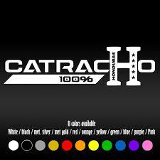 7 Catracho Honduras Diecut Bumper Car Window Vinyl Decal Sticker Wish