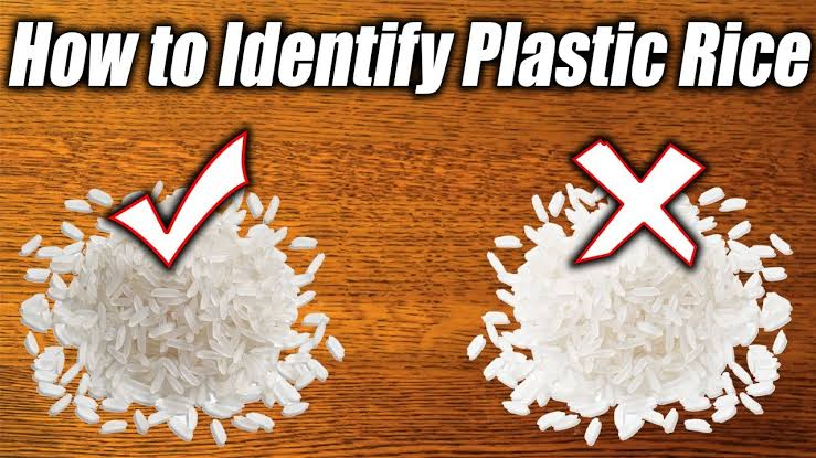 Could there be Plastic in your Rice?