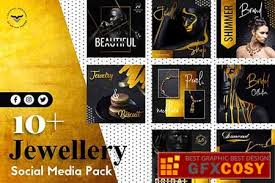 jewellery social a templates free