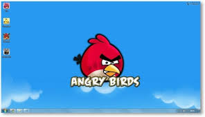 Angry Birds Windows 7 Themes - Download