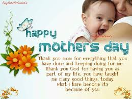 Thank you mom for everything that you ...