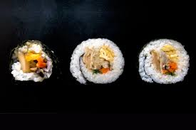 Nori Maki (Nori Rolls with Japanese ...