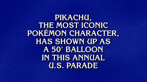 Pokemon Was A Jeopardy Category--How Many Would You Have Gotten ...