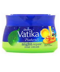 vatika naturals night repair hair cream
