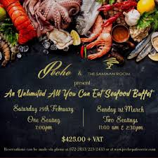 UNLIMITED SEAFOOD BUFFET SURF Lobster ...
