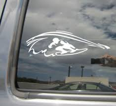 Surfer Surfing Pipeline Hawaii Wave Surf Car Window Vinyl Decal Sticker 05050 Ebay