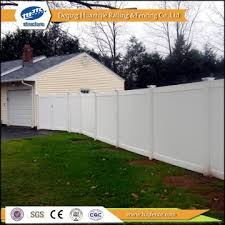 Fa1 China Plastic Yard Vinyl Garden Panel Fence Manufacturer Supplier Fob Price Is Usd 56 29 69 92 Set