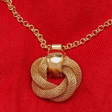 love knot necklace lovetoknow
