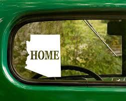 Arizona Decal Car Decal State Sticker By Stickeranddecalmafia Car Stickers Car Car Decals