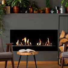 natural gas fireplace contemporary