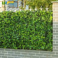 48pcs 50cm 50cm Faux Ivy Privacy Fence Screen Artificial Hedge Fencing Wall Outdoor Decor Wish