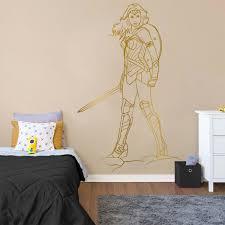 Wonder Women Wall Decal Kuarki Lifestyle Solutions