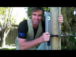How To Set A Fence Post Fast Youtube