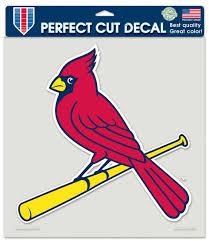St Louis Cardinals Decal 8x8 Die Cut Color Sports Fan Shop