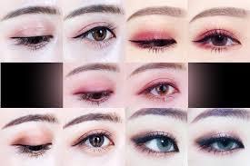 warna eyeshadow korean makeup look