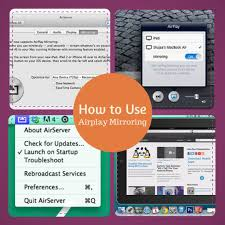 use airplay mirroring from iphone ipad