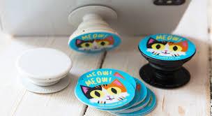 Popsocket Stickers Sticker Mule
