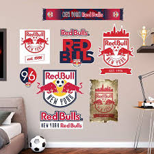 Fathead Mls New York Red Bulls Logo Wall Decal Collection Walmart Com