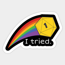 Funny Dnd Stickers Teepublic