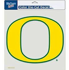 Amazon Com Ncaa Oregon Ducks Perfect Cut Decal Vinyl Auto Car Window Color Team Logo 8x8 Sports Outdoors